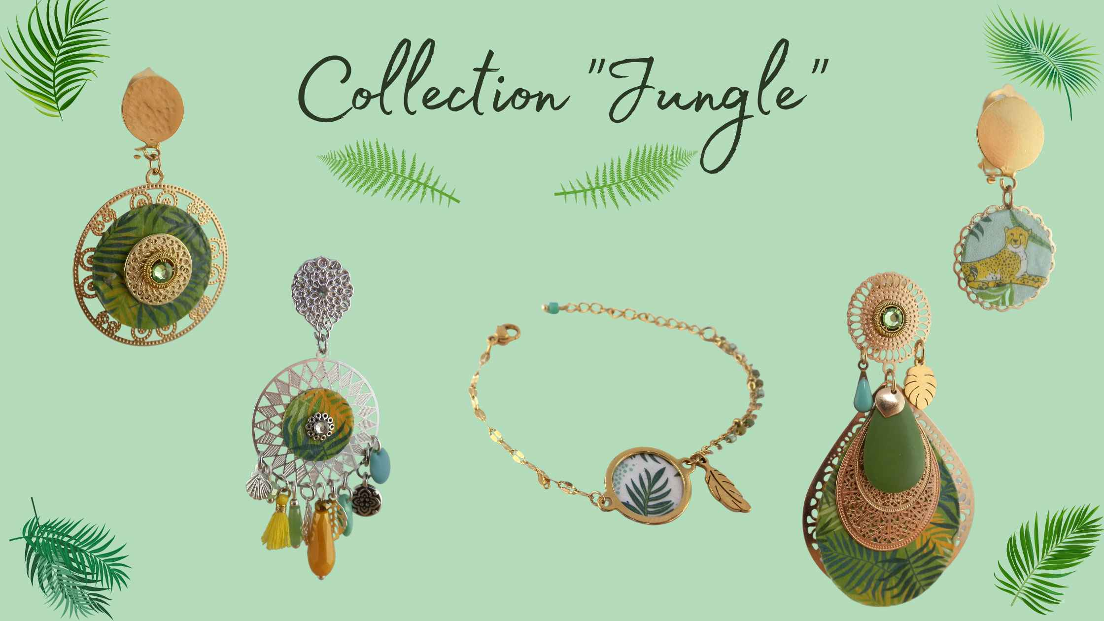 """Collection """"Jungle"""""""